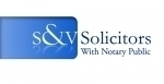 S & V Solicitors with Notary Public
